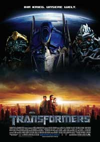 Transformers - 11 x 17 Movie Poster - German Style A