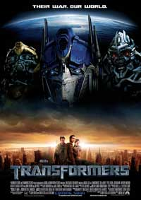 Transformers - 11 x 17 Movie Poster - Swedish Style A