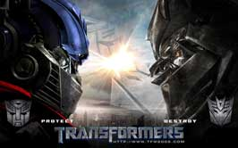 Transformers - 11 x 17 Movie Poster - Style R