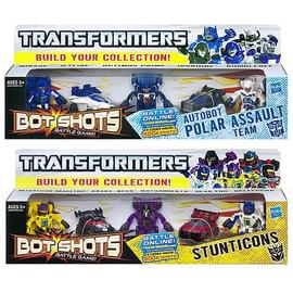Transformers - Bot Shots Basic 5-Packs Wave 1 Set