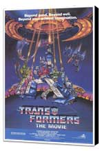 Transformers: The Movie - 27 x 40 Movie Poster - Style A - Museum Wrapped Canvas
