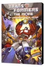 Transformers: The Movie - 27 x 40 Movie Poster - Style B - Museum Wrapped Canvas