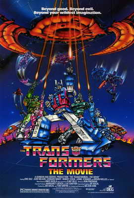 Transformers: The Movie - 27 x 40 Movie Poster - Style A