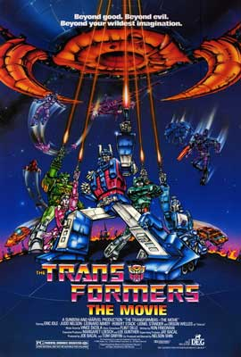 Transformers: The Movie - 43 x 62 Movie Poster - Bus Shelter Style A