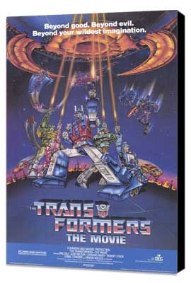 Transformers: The Movie - 11 x 17 Movie Poster - Style A - Museum Wrapped Canvas