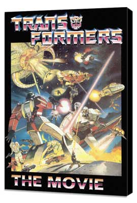Transformers: The Movie - 27 x 40 Movie Poster - Style C - Museum Wrapped Canvas