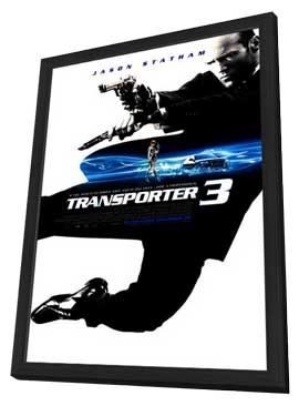 Transporter 3 - 27 x 40 Movie Poster - Style A - in Deluxe Wood Frame