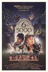 Transylvania 6-5000 - 27 x 40 Movie Poster - Style A