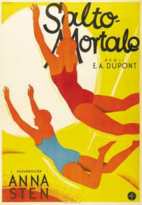 Trapeze - 27 x 40 Movie Poster - Swedish Style A