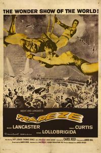 Trapeze - 11 x 17 Movie Poster - Spanish Style A