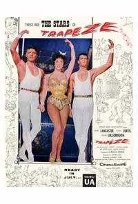 Trapeze - 27 x 40 Movie Poster - Style B