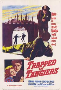 Trapped in Tangiers - 11 x 17 Movie Poster - Style A