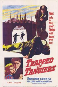 Trapped in Tangiers - 27 x 40 Movie Poster - Style A