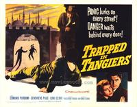 Trapped in Tangiers - 22 x 28 Movie Poster - Half Sheet Style A