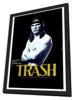 Trash - 27 x 40 Movie Poster - Style A - in Deluxe Wood Frame