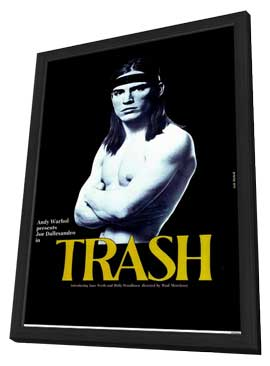Trash - 11 x 17 Movie Poster - Style A - in Deluxe Wood Frame