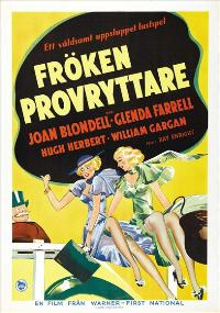 Traveling Saleslady - 27 x 40 Movie Poster - Swedish Style A