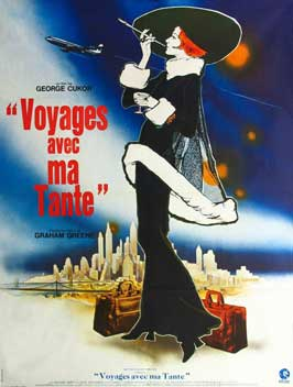 Travels with My Aunt - 27 x 40 Movie Poster - French Style A