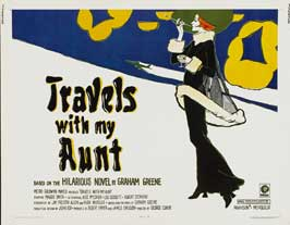 Travels with My Aunt - 22 x 28 Movie Poster - Half Sheet Style A