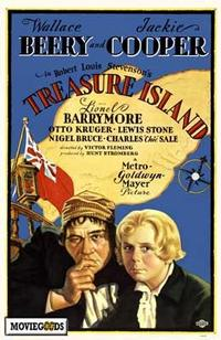 Treasure Island - 43 x 62 Movie Poster - Bus Shelter Style A