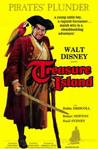 Treasure Island - 11 x 17 Movie Poster - Style A