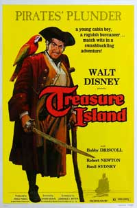 Treasure Island - 27 x 40 Movie Poster - Style A