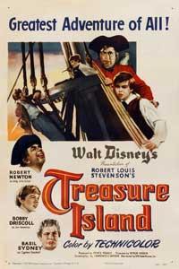Treasure Island - 27 x 40 Movie Poster - Style B