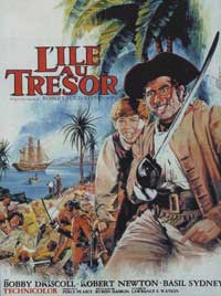 Treasure Island - 11 x 17 Movie Poster - French Style A