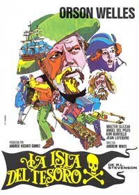 Treasure Island - 11 x 17 Movie Poster - Spanish Style A