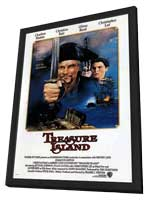 Treasure Island (TV) - 11 x 17 TV Poster - Style A - in Deluxe Wood Frame