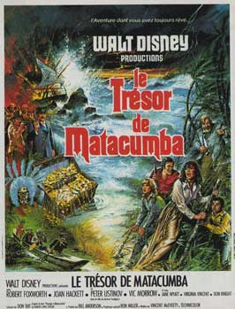 The Treasure of Matecumbe - 11 x 17 Movie Poster - French Style A