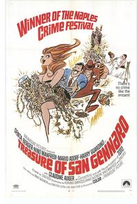Treasure of San Gennaro - 11 x 17 Movie Poster - Style A