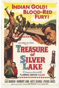 Treasure of Silver Lake - 27 x 40 Movie Poster - Style A
