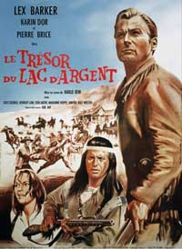 Treasure of Silver Lake - 11 x 17 Movie Poster - French Style A