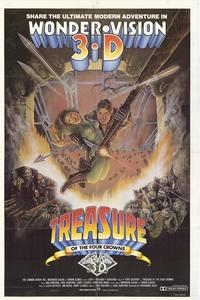Treasure of the Four Crowns - 11 x 17 Movie Poster - Style A