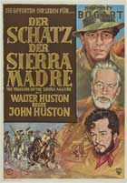 Treasure of the Sierra Madre - 27 x 40 Movie Poster - German Style B