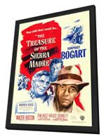 Treasure of the Sierra Madre - 27 x 40 Movie Poster - Style A - in Deluxe Wood Frame