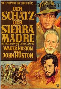 Treasure of the Sierra Madre - 11 x 17 Movie Poster - German Style A