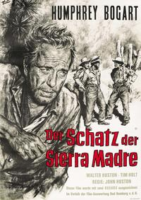 Treasure of the Sierra Madre - 27 x 40 Movie Poster - German Style A