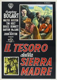 Treasure of the Sierra Madre - 11 x 17 Movie Poster - Italian Style C