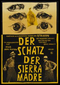 Treasure of the Sierra Madre - 11 x 17 Movie Poster - German Style D