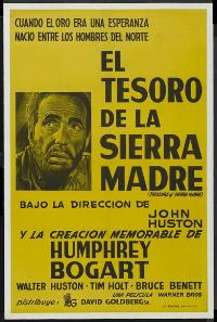 Treasure of the Sierra Madre - 27 x 40 Movie Poster - Spanish Style A