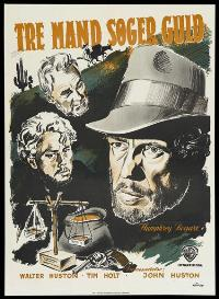 Treasure of the Sierra Madre - 27 x 40 Movie Poster - Danish Style B