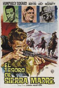 Treasure of the Sierra Madre - 11 x 17 Movie Poster - Spanish Style C