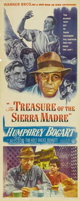 Treasure of the Sierra Madre - 14 x 36 Movie Poster - Insert Style A