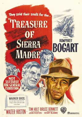 Treasure of the Sierra Madre - 27 x 40 Movie Poster - Australian Style A