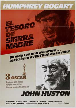 Treasure of the Sierra Madre - 27 x 40 Movie Poster - Spanish Style C
