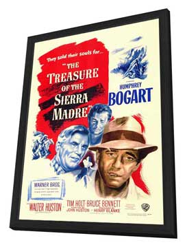 Treasure of the Sierra Madre - 11 x 17 Movie Poster - Style A - in Deluxe Wood Frame