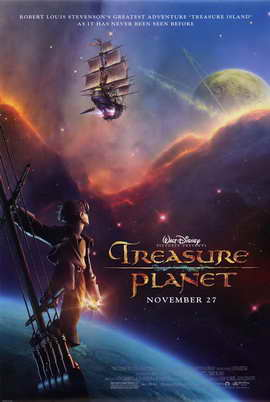 Treasure Planet - 27 x 40 Movie Poster - Style A