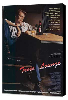 Tree's Lounge - 27 x 40 Movie Poster - Style A - Museum Wrapped Canvas